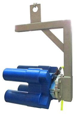 Krížový magnet na kontrolu koncov trubiek
