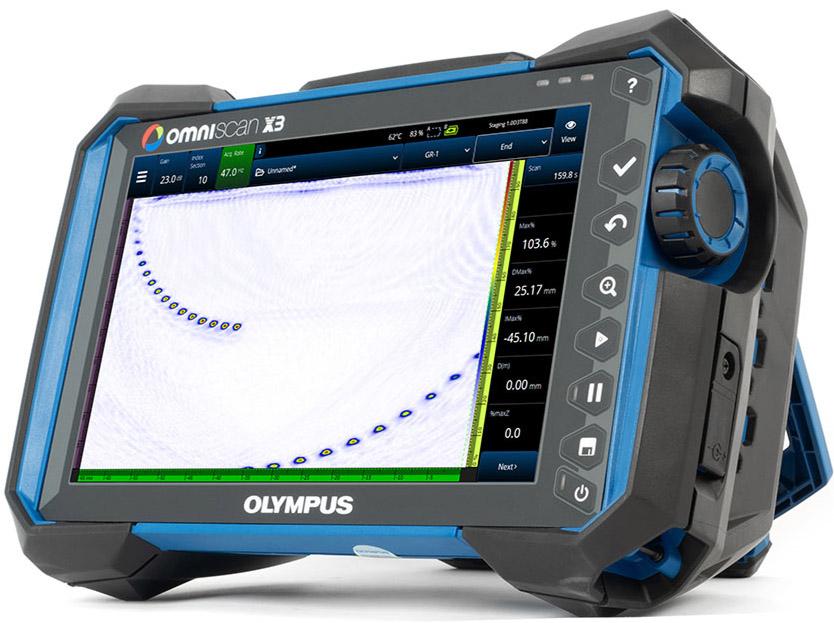 predstavujeme Vám úplne nový UT/PA defektoskop Omniscan X3