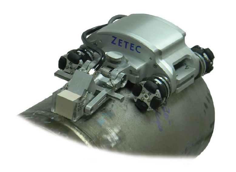 NDT Sweeper - enkódovaný 2D skener