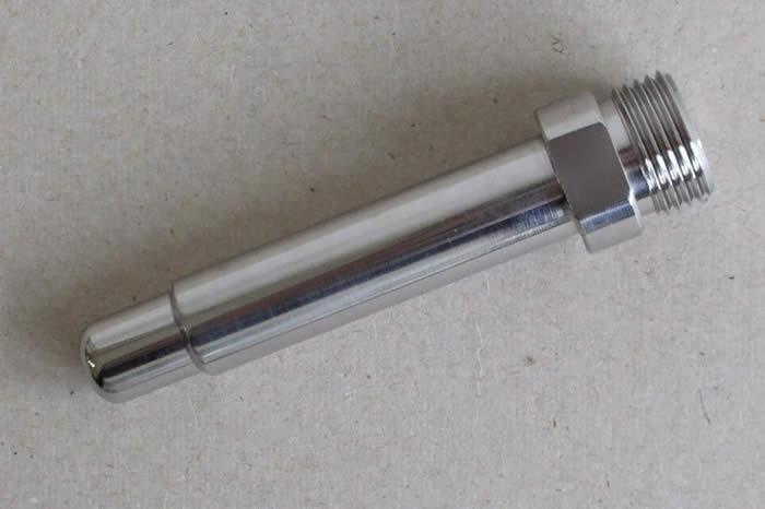Výjazdová špička Ir/Co 80 mm M18x1.5