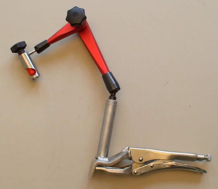 Kĺbový držiak mechanický do 510 mm