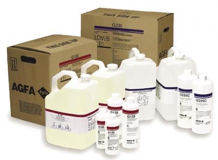 Chemikálie pre vyvolávanie filmov AGFA