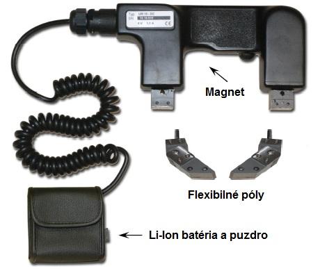 Séria ručných magnetov HANSA DC