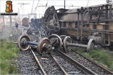 Slovcert Meranie zvyškových napätí v ráfikoch železničných kolies