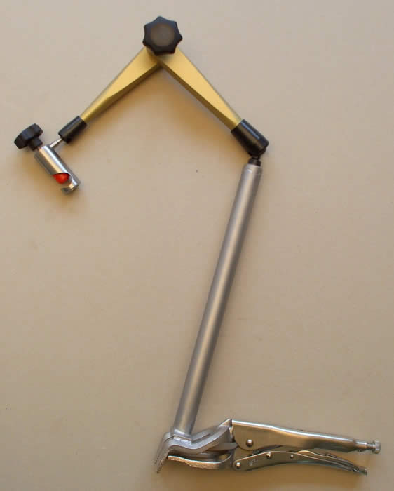 Kĺbový držiak hydraulický do 750 mm