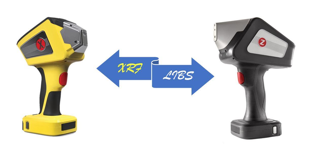 Ručné analyzátory XRF a LIBS